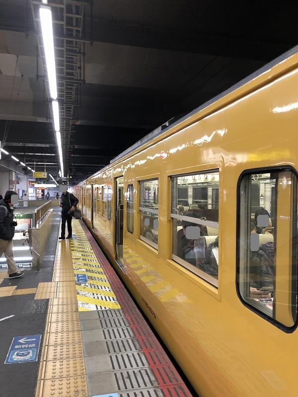 JR岡山駅→倉敷駅